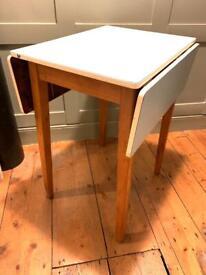 Vintage Extendable dining table in duck egg blue desk