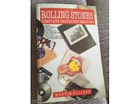 Rolling Stones complete recording sessions by Martin Elliot