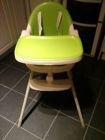 3 in 1 keter highchair