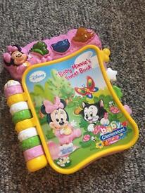 Mini mouse light and sound book