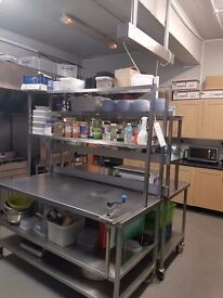Commercial Kitchen available for rent as and when required (Fully Equipped )