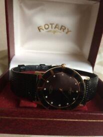 Exclusive vintage slimline Rotary Watch