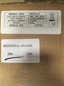 FF3T -13 Ind Heater