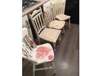 Shabby chairs
