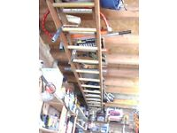 TIMBER LADDERS. Ideal for your house, painting, cleaning windows, gutters etc.