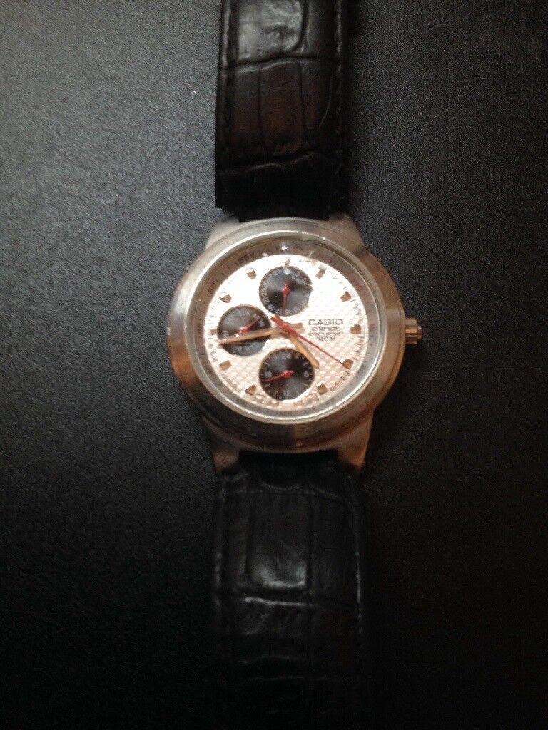 Casio Edifice EF - 308 Watch EXCELENT WORKING CONDITION