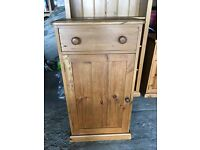 Old Pine Storage Cupboard & Draw Unit