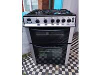Bush 60cm Wide Gas Cooker with 6 Month Warranty