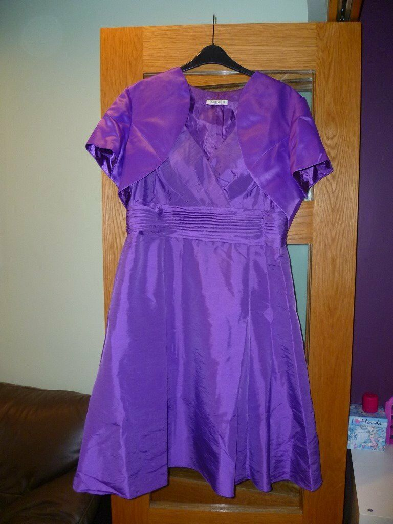 Purple bridesmaid/prom dress and Bolero | in Tingley, West Yorkshire ...