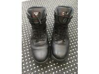 Airforce black mens size 13 work boots