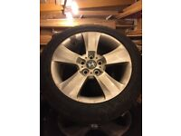 """BMW Genuine Winter 18"""" Wheels and Tyres"""