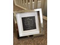 Silver Photo Frame (Brand New)