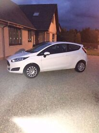 2013 plate Ford Fiesta Style