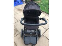 Pushchair, buggy board and car seat