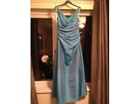 Size 10, tourqize bridesmaid/ prom dress