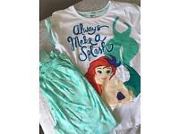 BRAND NEW Disney little mermaid pyjamas