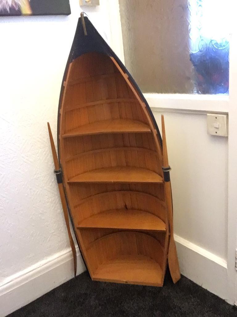Clinker Boat Bookcase In Prestwich Manchester Gumtree