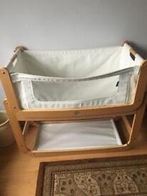 'Bed nest' Bedside crib REDUCED FOR QUICK SALE
