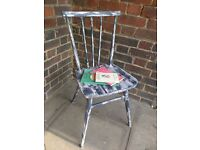 Vintage Ercol child dining or desk chair. Rustic retro/baby boho