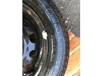 Continental tyre 175/65/14 part worn