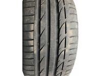 Bridgestone Run Flat Tyre 225/40R/19 Good remaining tread
