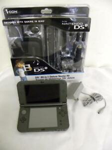 AUCTION Nintendo 3DS XL(Used,Good) + New, Nintendo DSi 22-in-1 Deluxe Starter Kit
