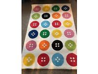 Ikea Button Rug