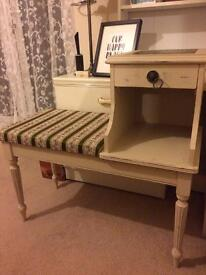 Gorgeous vintage seat and drawer