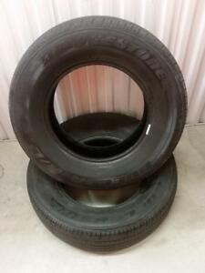 (Y42) 2 Pneus Ete - 2 Summer Tires 235-70-16 Bridgestone