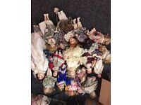 Porcelain dolls leonardo collection