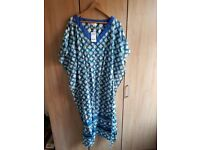 Next beachwear beach dress poncho new with tags s small 8 10 6