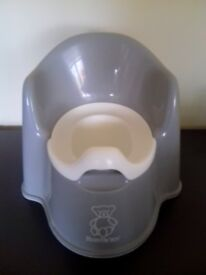 BabyBjörn Potty Chair Grey - used, great condition