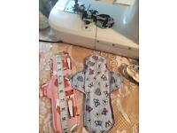 New Two longer medium and heavy eco sanitary pads