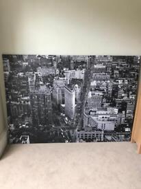 Ikea New York Canvas XXL