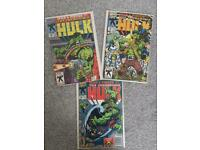 The Incredible Hulk 30th anniversary comics