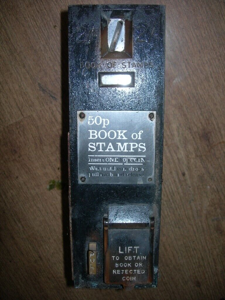 Vintage Post Office Stamp Vending Machine De Commissioned Therefore Not Working In Gloucestershire Gumtree
