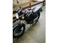 2007 (07) Yamaha YBR 125cc motorbike