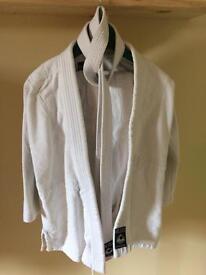 White Judo Suit