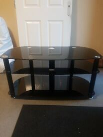 Black high gloss tv unit excellent condition