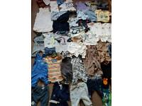 BABY BOY HUGE CLOTHES BUNDLE 0-3MTHS/ FIRST SIZE