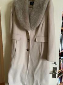 Marks & Spencer Elegant Long Tailored Cashmere Coat