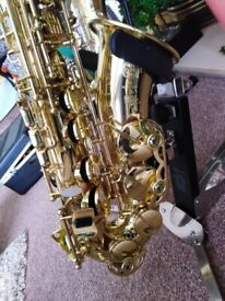 SELMER SUPE SERIES 80 II ALTO SAXOPHONE AS NEW CONDITION