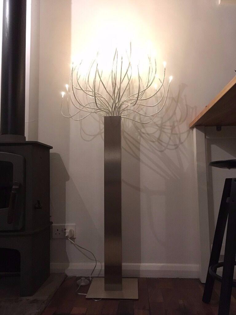 Ikea Stranne Steel Led Floor Lamp In Cobham Surrey Gumtree
