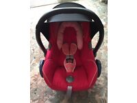 Baby Pink Maxi Cosi Cabriofix Car Seat Group 0+ Newborn First size
