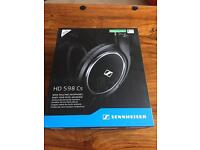 Sennheiser HD 598 CS headphones brand new still sealed