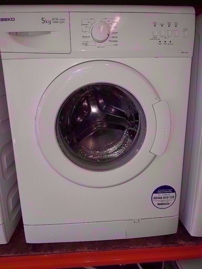 Beko 5KG Washing Machine A+A CLASS 1000 RPM