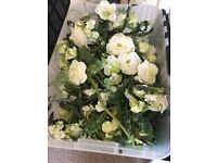 Silk roses on vine x19 selling for £100. originally £9.9 9 from the range