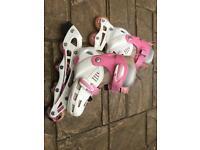 Girls SFR roller skates 12J-2