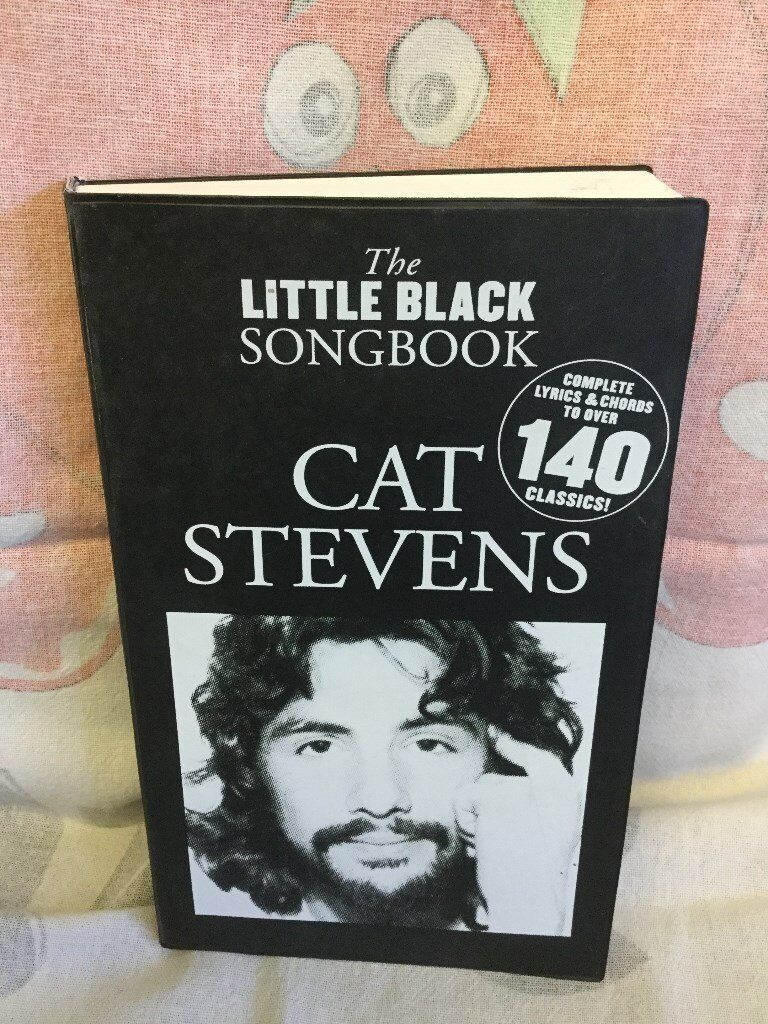 The Little Black Songbook Guitar Chords Cat Stevens Music Lyrics