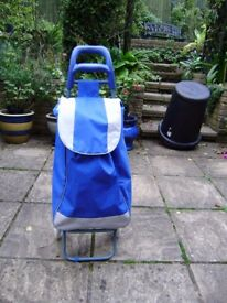 Shopping trolley, as new, really great condition